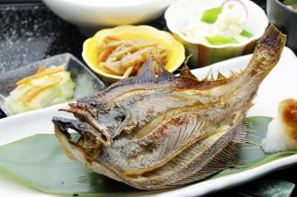 宗八がれいの焼魚定食