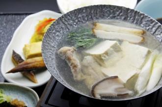 道産若鶏の水炊き風湯豆腐セット